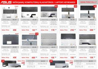 Photo 4 - ASUS nešiojamo kompiuterio klaviatūros, keitimas, remontas PIGIAI