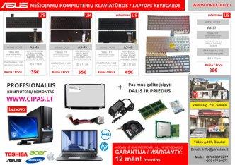 Photo 6 - ASUS nešiojamo kompiuterio klaviatūros, keitimas, remontas PIGIAI