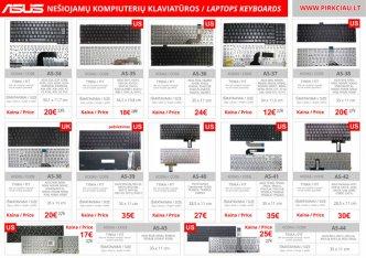 Photo 5 - ASUS nešiojamo kompiuterio klaviatūros, keitimas, remontas PIGIAI