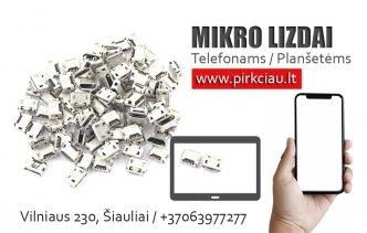 Photo 1 - TELEFONŲ / PLANŠETŲ Micro USB lizdai 3,50 eur