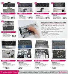 Photo 2 - PIGIAUSIOS SAMSUNG nešiojamų kompiuterių klaviatūros, keitimas, remontas, Šiauliai