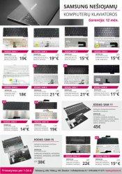 Photo 1 - PIGIAUSIOS SAMSUNG nešiojamų kompiuterių klaviatūros, keitimas, remontas, Šiauliai