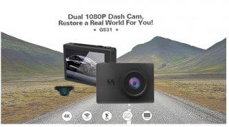Photo 1 - DVR Premium vaizdo registratorius su OLED 4K ekranu, wifi, gps. AUKŠTA KLASĖ