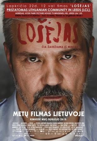 Lietuvos filmas 'Lošėjas' Leeds mieste